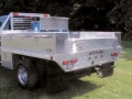 Custom Aluma Aluminum Truck Bed with Optional Toolboxes