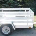 Single Axle Utility Trailers