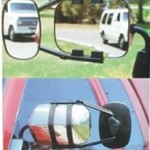 Clip on tow mirror