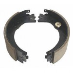 Dexter 12-1/4in X 3-3/8in Trailer Brake Shoes/Lining Kit, Left Side