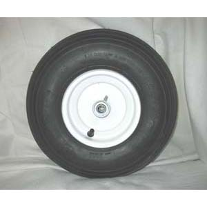 Wagon Tire and Wheel for 1200, 1300, and 1400 Models - White or Yellow