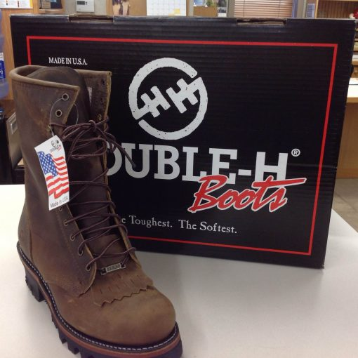 Double-H Work Boot Davis Trailer World