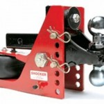Receiver Mount Shocker Hitch System