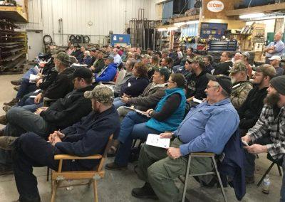Interested Crowd at the DOT Seminar